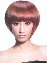 女生沙宣头短发发型图片[2P]