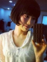 泰妍最新可爱蘑菇头照片