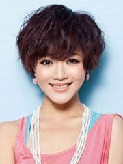 最新好看的韩式短卷发发型图片[7P]