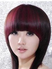 女生沙宣头短发发型设计图片 层次感十足[4P]