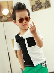 朋克男孩PK寸头男孩 帅气可爱的小男孩短发发型[6P]