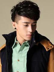 男生自然卷短发发型设计[6P]