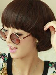 女生短发发型蘑菇头图片[5P]