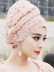 头巾怎么绑好看  众女星头巾绑法范冰冰最抢眼[5P]