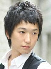 男生自然卷适合的发型[3P]