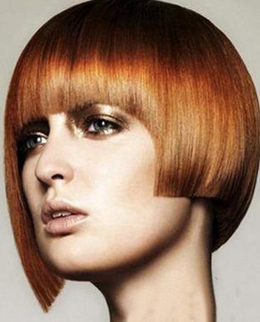 2014沙宣短发发型图片女[5P]