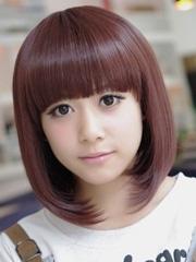 适合女学生的短发及女学生发型扎法[9P]