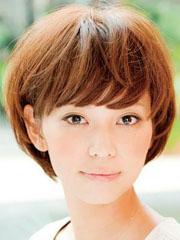 女生短发帅气蘑菇头图片[5P]