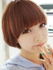 女生可爱锅盖头发型图片[5P]