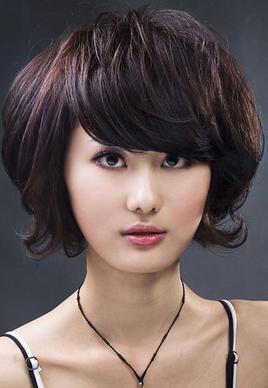 2014最新沙宣短发发型图片大全[9P]