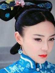 宫锁连城袁姗姗戴娇倩古装发型PK 锅盖头VS中分刘海[15P]