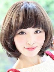 日系女生甜美短发图片[5P]