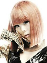 韩国女生流行发型颜色图片[6P]