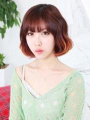 清新优雅的韩式荷叶头发型图片[9P]