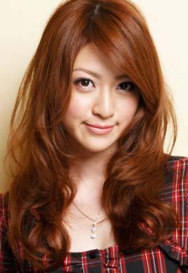 新款韩式中长发烫发发型设计 甜美有气质[5P]