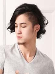 推荐几款男生长发烫发发型 时尚有个性[4P]