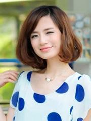 2014最新梨花头发型图片[6P]