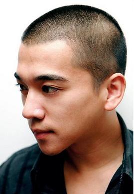 最帅男士圆寸头发型图片[6P]