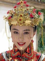 古装新娘盘发发型图片分享[5P]