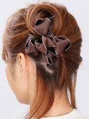 超漂亮韩式花苞头发型扎法图解[5P]