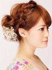 梨花头编蜈蚣辫的编法图解[7P]