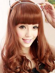 最新韩式中长卷发发型图片 女人味十足[6P]