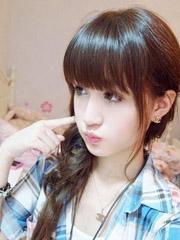 韩式发型扎法中长发 适合年轻女生[5P]