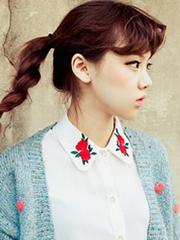 韩式小清新编发图片[5P]