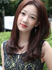 新款韩式中长卷发发型图片 妩媚浪漫[15P]