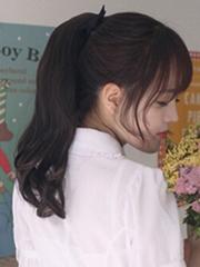 学生马尾怎么扎好看 韩式学生高马尾靓丽显气质[5P]