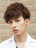 适合各种脸型的男生烫发发型图片[4P]