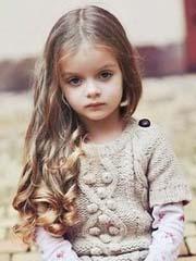 儿童小公主发型也要女神范儿[10P]