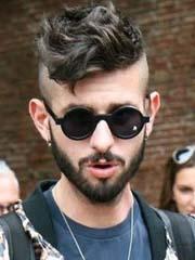 型男帅哥莫西干短发发型图片[5P]