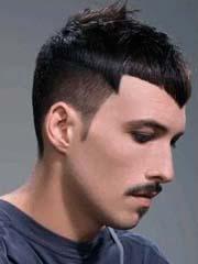 时尚沙宣男士短发发型图片 改良版西瓜头型男格调[9P]