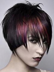 个性沙宣短发发型图片女[5P]