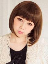 娃娃脸女生适合的发型设计[6P]