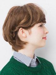 斜刘海短发怎么扎好看图解[4P]