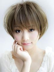 好看的女学生短发发型图片[7P]