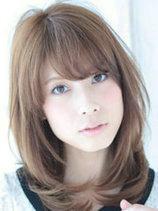 国字脸女生适合的发型图片 修颜又减龄[10P]