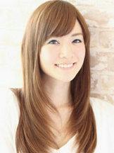 好看的女生中长直发发型图片大全[21P]
