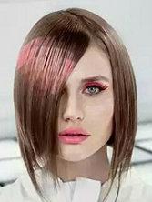 当头发打上马赛克 像素染发VS二维印花染发[11P]