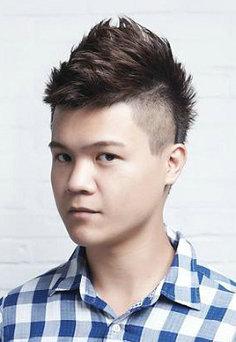 男生两边剃短的发型 莫西干发型怎么打理教程图解[5P]