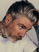 银灰色头发怎么染 男士银灰色头发图片[17P]