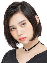 时尚日系短发女[5P]