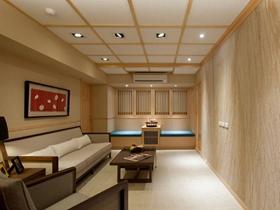 110平素雅原木现代风格三室两厅装修案例分析