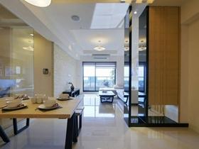 素雅舒适现代风格三居家庭使用设计案例