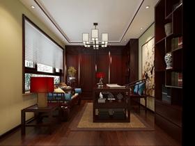 古典韵味中式三居室设计图集
