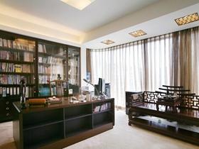 中式简约混搭300平别墅设计装潢