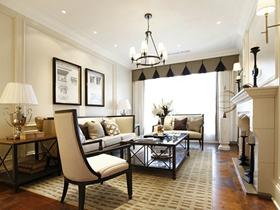 温馨简欧风格二居室装饰效果图