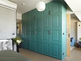 现代混搭风格设计一居室效果图